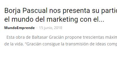 El «GuíaBurros: Arte de la prudencia» en Mundo Emprende.